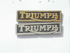 Triumph Name Bar Motorcycle Pin (Choice of 1-Silvertone or Goldtone) ***