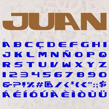 ALFABETO JUAN LETRAS A ELEGIR 12cm MADERA DM 4mm MDF WOODEN LETTERS DECOUPAGE