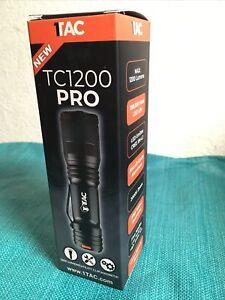 TAC TC1200 PRO FLASHLIGHT LIGHT BLUE