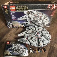 Complete Lego Set 75257 Star Wars Millennium Falcon Lando Calrissian Finn Boolio