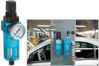 """HAZET 9070-7 Filterdruckminderer 1/4"""" Wasserabscheider Druckminderer Druckluft"""