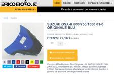 Cupolino SUZUKI DL 650 /1000 V-Strom 2004 - 2010 tipo Originale Trasparente