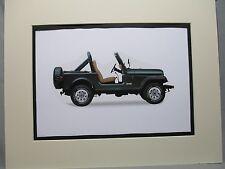 Hearty 1977 Jeep Dlx Catalog Brochure 36-pgs Honcho Wagoneer Cj-7 Renegade Amc Xlnt Collectibles