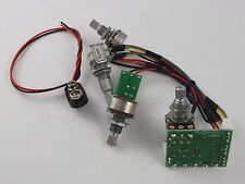 ARTEC SE3A 3 BAND EQUALIZER for Electric Guitar, Bass or Piezo pickups