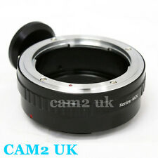 Konica AR lens to Sony NEX E mount Adapter NEX-5R 6 7 A7 A7R A6000 VG900 tripod