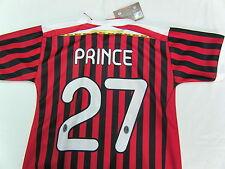 MAGLIA CALCIO AC MILAN 2012 KEVIN PRINCE BOATENG TAGLIA 10 ANNI UFFICIALE 7 8 9