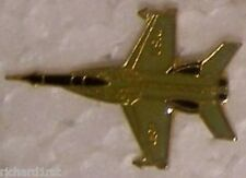 Hat Tie Tac Pin Airplane F-5E Freedom Fighter NEW grey
