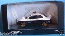 SUBARU IMPREZA WRX STI 2003 JAPAN POLICE NOREV 1/43 NEW
