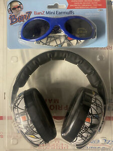 Banz The Protection Experts Mini Earmuffs Protection Set With Sunglasses