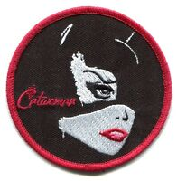 CATWOMAN close-up IRON-ON PATCH **FREE SHIPPING** -c pdc82 batman dc comics