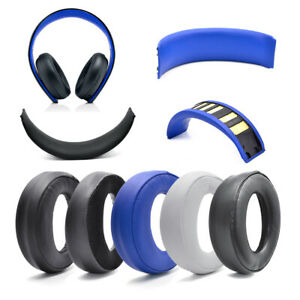 Ear pads headband cushion replacement fit Sony PlayStation Gold Wireless Headset
