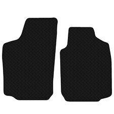 Vauxhall Tigra 2004 to 2009 Black Floor Rubber Tailored Car Mat 3mm 2pc Set