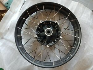 BMW R1250GS R1200GS LC FRONT SPOKED WHEEL VGC