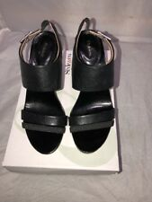 Style & Co. Vivianne Women US 7 Black Sandals