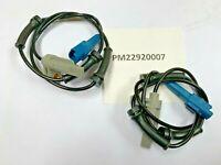 x2 for Peugeot 206 1998-2007 REAR ABS Wheel Speed Sensor (rear discs)