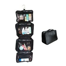 Travel Organizer Accessory Toiletry Cosmetics  Makeup Hanging Shaving kit Bag