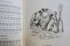 BERANGER Musique des chansons de Béranger 1865 par Grandville