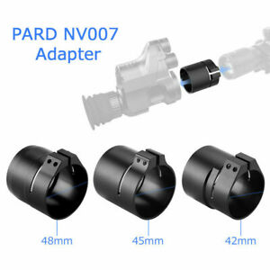 PARD NV007 Adapter 42/45/48MM 3 Size Ring Mount fits NV007 Night Vision DeviceUK