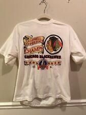 Chicago Blackhawks Men's Shirt 1992 Stanley Cup Vintage Size XL