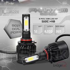 72W 8000LM US BridgeLux Chip LED Kit 6000K 6K Light Bulbs Fog Lights - H10 9145