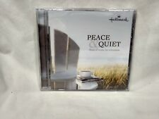 Rare Peace & Quiet Classical Music For Relaxation Hallmark NEW 2008       cd6398