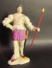 Fine 18th C. Soft Paste German Porcelain Figure of a Soldier  c. 1780  antique