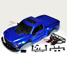 NEW Traxxas 2017 Ford Raptor SVT Slash Body Blue w/Body Mounts Bumpers 2WD SCT