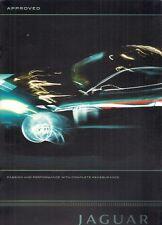 JAGUAR Approvato AUTO USATE 2009-10 UK Opuscolo Vendite sul mercato X-Type XF XJ XK