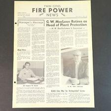 1960's Twin Cities Fire Power News - Federal Ammunition Company Newspaper 3.6  00006000
