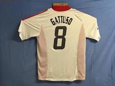 Milan Maglia Trasferta Fin Champions Manchester 2003 Jersey Away GATTUSO 8 XL