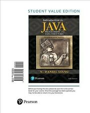 Introduction to Java Programming and Data Structures, Paperback by Liang, Y. ...