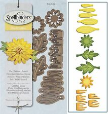 SPELLBINDERS SHAPEABILITIES CUTTING DIE D-LITES CREATE A DAISY UNIVERSAL FIT