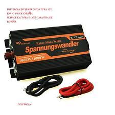 INVERSOR ONDA PURA 1000W 12V 230V , INVERTER SINE PURE 1000W 12V 230V