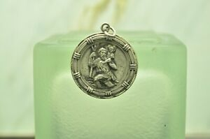 925 STERLING SILVER A. GALE INC. ST. CHRISTOPHER RELIGIOUS PENDANT CHARM #X29224