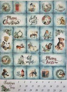 Rice Paper for Decoupage Scrapbook Craft Christmas Decorations Calendar 147