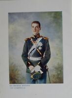 1901 Stampa & Biografia il Suo Imperial Highness The Czarewitch Michael