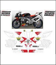 kit adesivi stickers compatibili rs 125  racing dream fim jgp
