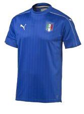 Puma Italia Italy Home Football Jersey 2015/16 Boys Blue Youth L New