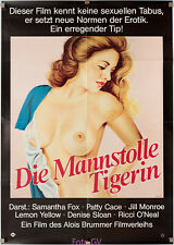 Filmplakat Mannstolle Tigerin/Tigresses and other Man-Eaters 1979 del Rio, Sarno
