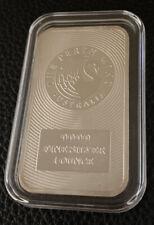 Perth Mint Australia Kangaroo 1 ounce Sealed .9999 Fine Silver Bar Free Shipping