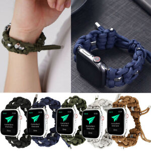 Sport Woven Rope Strap for Apple Watch 5/4/3/2/1 Band 44mm 40mm 38mm 42mm