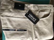 Versace  Men's Tan khaki Pants- Size: 36/48