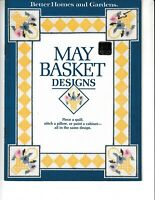 May Basket Designs Cross Stitch | Better Homes and Gardens