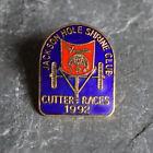 Vintage Pin - Shriners Masonic Jackson Hole Lapel Cutter Races Cloisonne 1992