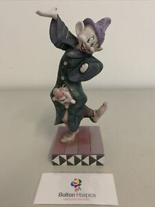 "Disney Traditions Dopey & Sneezy Dwarves Figurine ""Dancing Partners"" #284"