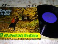 Acker Bilk - Romance a la Bilk, 1962, mono vinyl LP, EMI Encore ENC 2009 - VG