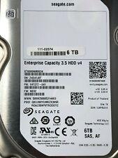 "This is Server Hard Drive Seagate 6TB 7.2K SAS 12Gb 3.5"" ST6000NM0034 HDD v4"
