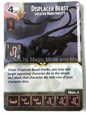 Faerun Under Siege DISPLACER BEAST Greater Monstrosity #82 D&D Dice Masters card