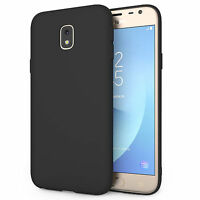 Silicone Case For The New Samsung Galaxy J3 2017 Solid Matte Flexi TPU Gel Cover