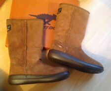 6c4bfbb39d4c7 Rocket Dog Sugar daddy Boots Chestnut Brown Suede Leather UK Size 5 38 RRP  £100